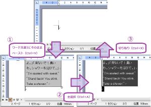 ワードファイル-コピペ媒体