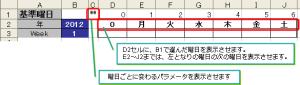 曜日基準フォーマット_数式